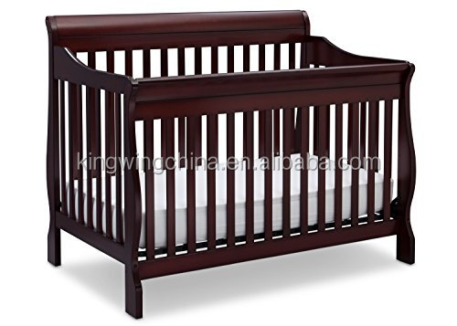 Cribs 4 in 1 Convertible Baby Crib Toddler Bed