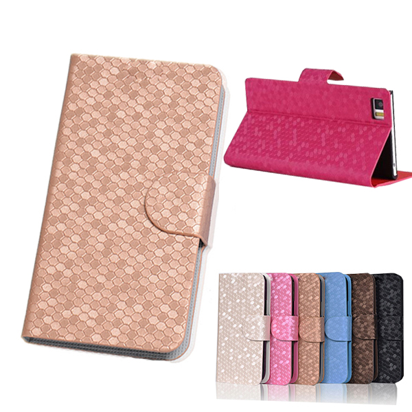 Flip PU Leather Fashion Case For HTC Wildfire s G13 Original Case For HTC Wildfire s G13 With Stand Function and Card Slot Cover