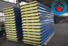 Insulated Glasswool Sandwich Panels For Prefab Steel Structure Buildings