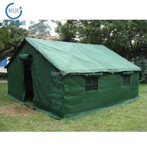 Waterproof Canvas Fabric Army Green Military Tent