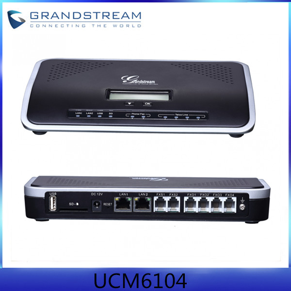 Grandstream UCM6104 Mini IP PBX With Cheap Price