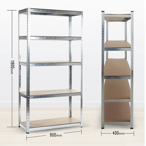 Hot sale boltless metal Shelving 5-Shelf Shelving Unit