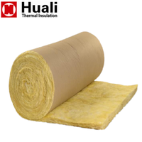 Kraft Paper Covering Glass Wool R13 Fiberglass Glasswool Blanket Insulation