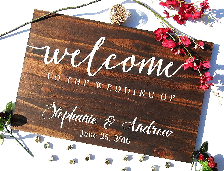 Wood Wedding Sign, Wood Reception Sign, Rustic Wedding Sign, Welcome Wedding Sign, Custom Wedding Sign, Custom Wood Sign, Pallet Wood Sign .sign#132