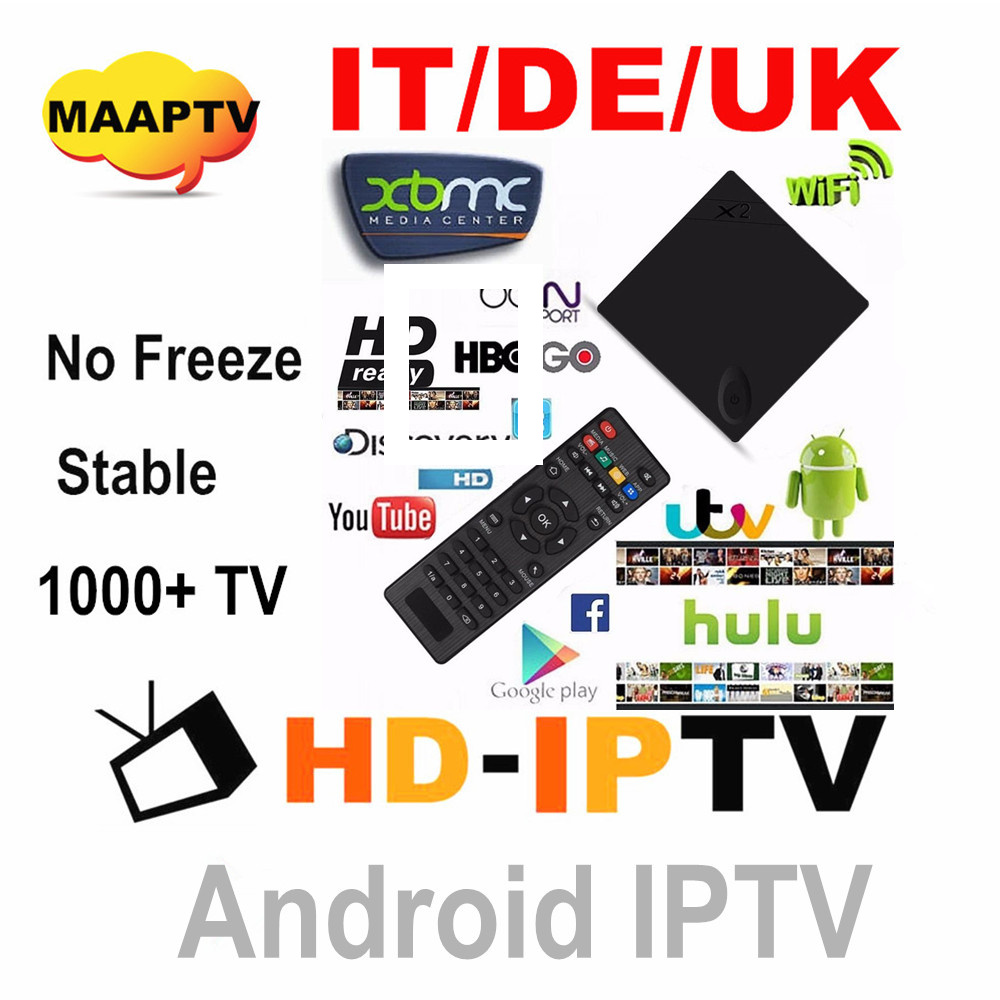 IPTV apk account UK.DE.IT working on android tv box M3U smart tv PC and android smart phone 3 month subscription 25USD free test