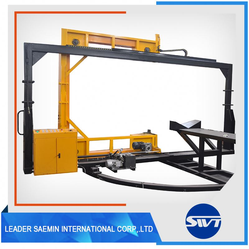 Fully Automatic Band Saw For Pipe Cutting Machine