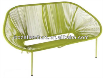 Surprising Acapulco Colorful Pe Rattan Curved Patio Bench Buy Curved Patio Bench Synthetic Rattan Bench Curved Outdoor Bench Product On Alibaba Com Gmtry Best Dining Table And Chair Ideas Images Gmtryco