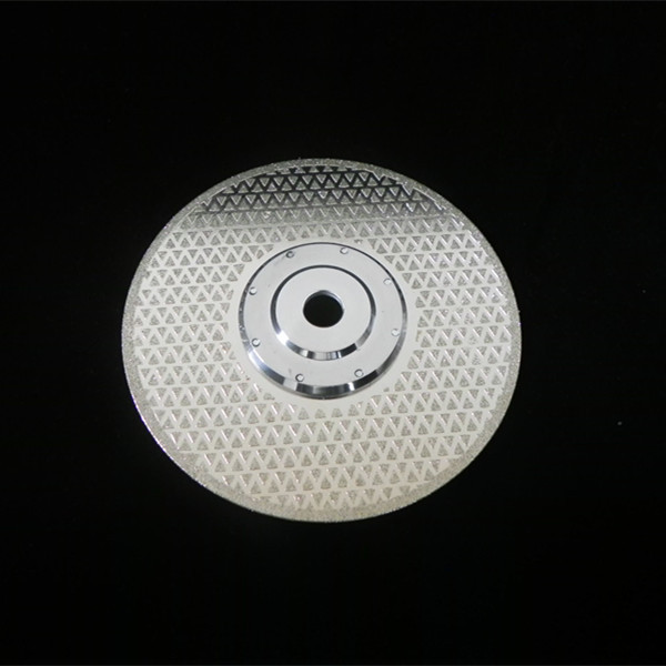 "125mm 4.5""inch 5mm segment   rim wet cutting  electroplated   diamond  disk"