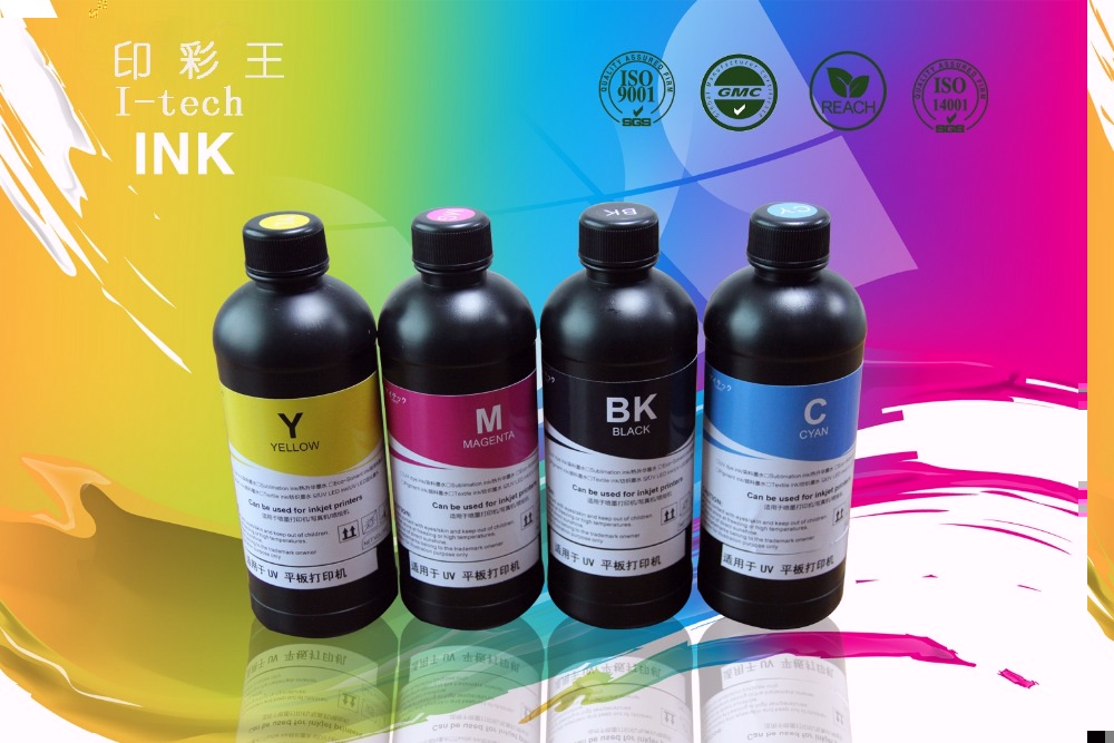 Premium LED UV Flexo Ink UV Curable Inkjet Ink UV Flexo Ink For Epson DX5 Printhead