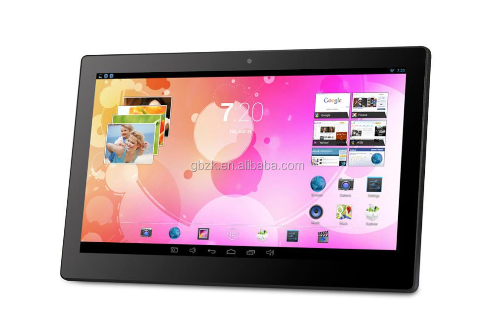 15.6inch 1366*768 wall-mounted lcd ad player 15.inch lcd portable dvd touch screen ad player