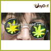 3D hologram round lens sunglasses cool NEW poker glasses