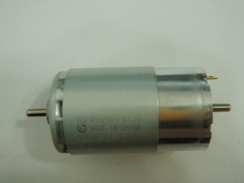 Manufacturer 12 Volts Electric Motor Double Shaft 12