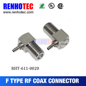 factory price F right angle female connector for rg58 RG8 RG213 RG11