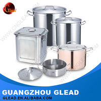 High quality different types Stainless steel wholesale cookware