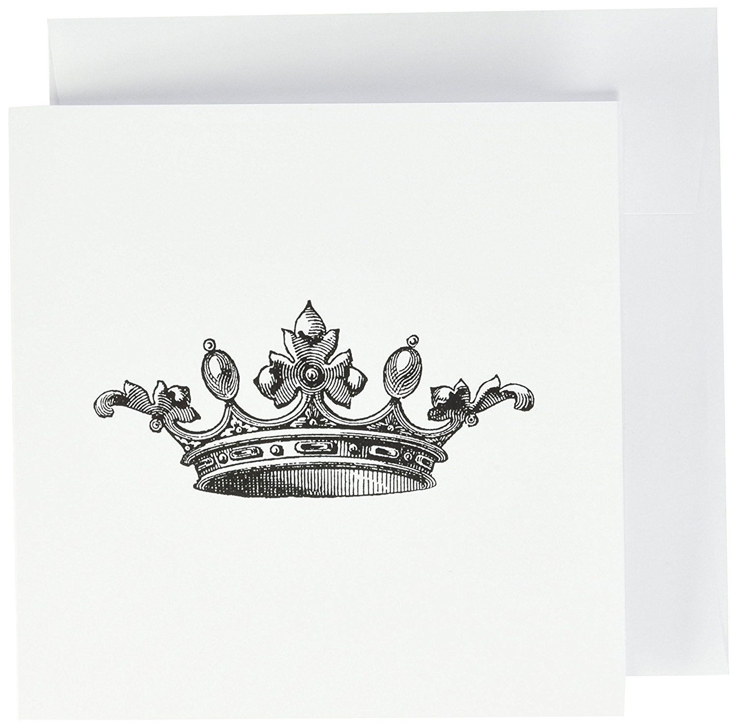 Buy Majestic Crown Drawing King Queen Princess Greeting Cards 6
