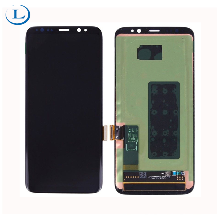 factory price and AAA copy quality cell phone lcd screen parts for galaxy s8 display