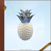 Home decor ceramic pineapple decoration wholesale
