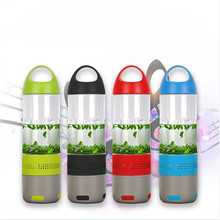 portable speaker blue tooth, 21 inch wireless speaker, convenient bottle music speaker for outdoor sports