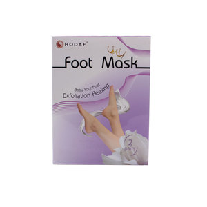 Foot Peel Mask /Feet Skin Callus Removal 4 PAIRS foot mask For Women Use