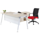 Durable modern executive table office desk supply hotel front desk