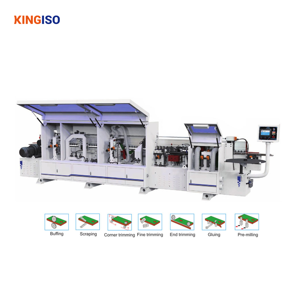 MFZ609 Automatic through feed edge bander woodworking edge banding machine price