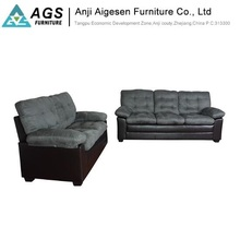 Modern American Style 5 Seat Living Room Furniture PU Lounge Recliner Sofa