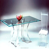 good quality great design clear acrylic table and chair factory price