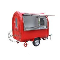 mini electric mobile fryer food cart/coffee trucks for sale