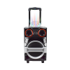 Wholesale Custom Portable Karaoke Trolley Subwoofer Trolley Speaker box1000W RCF Speaker For Promotion