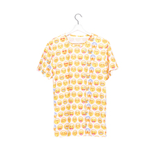wholesale polyester promotional 3d digital print unisex emoji print sublimation 3d t shirt