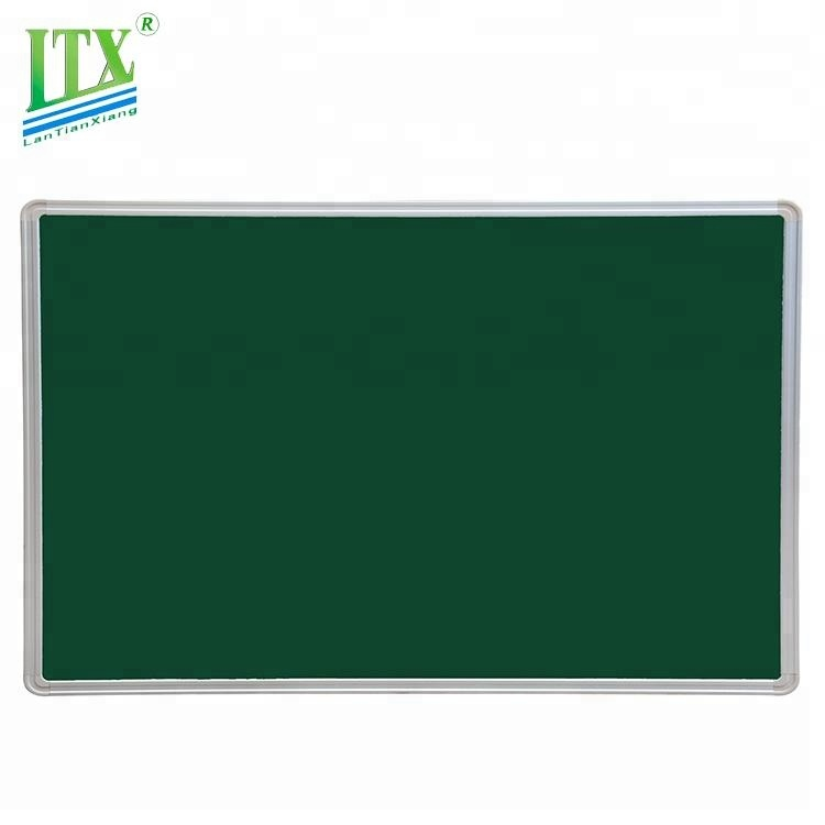 Custom design school classroom teaching use erasable magnetic green chalkboard