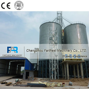 China Silo Manufacturers of Grain/Coffee Bean Storage