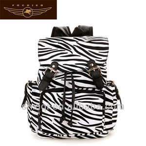 zebra backpacks shoulder bag