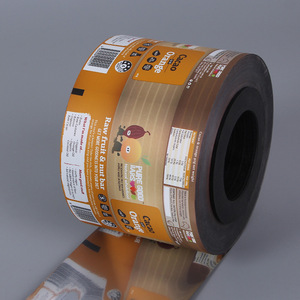 Custom logo iridescent stretch film roll for food packaging