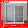 low cost aluminum frame sliding building windows/simple glass home design window