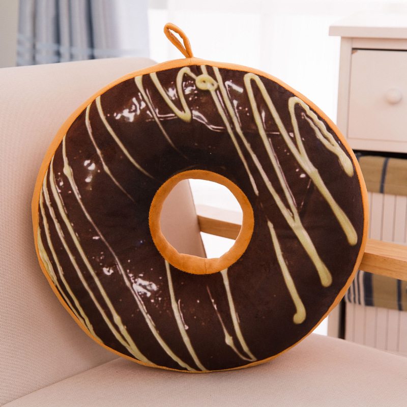 Manufacturer price custom doughnut cushions, soft chair cushions,Circular pillow