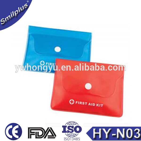 Medical Mini First Aid Kit PVC Pouch