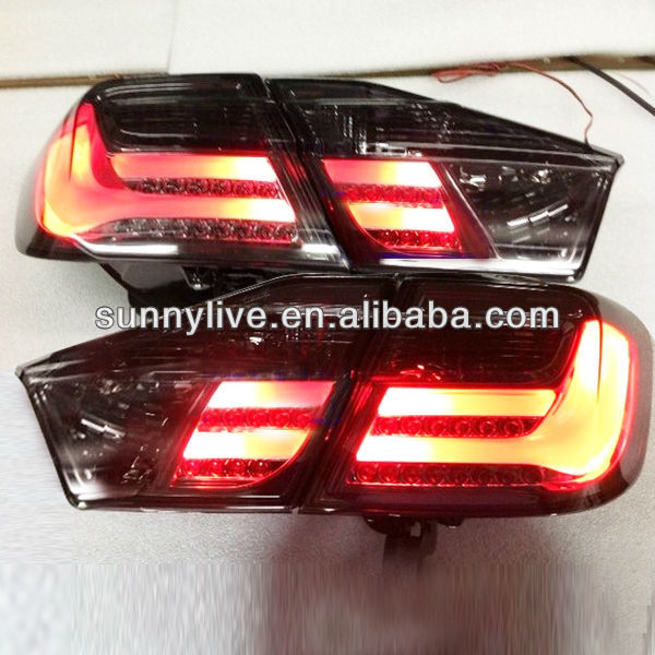 For TOYOTA Camry LED Tail Lamp 2012-13 year Smoke Black Color New Style
