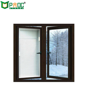 CE standard French style Aluminum Casement Window