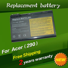 Laptop Battery For Acer TravelMate 290 290D 290E 290LC 290Xi 291 292LM 29X 4050 4050LC 4050LM 4051 4051LM 4052 4052LC 4052LM