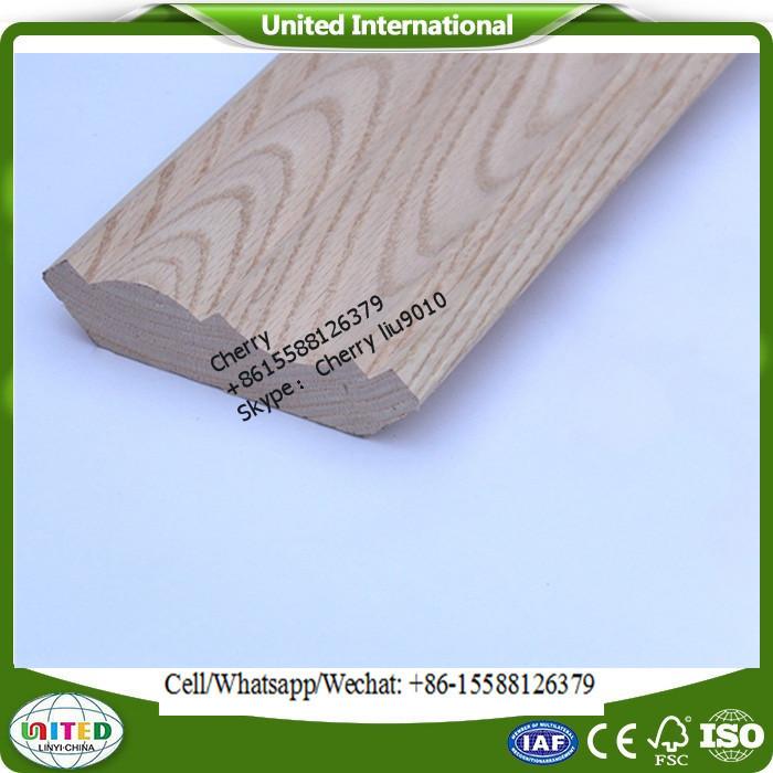Talla de madera sin terminar de moldeo-Molduras-Identificación del ...