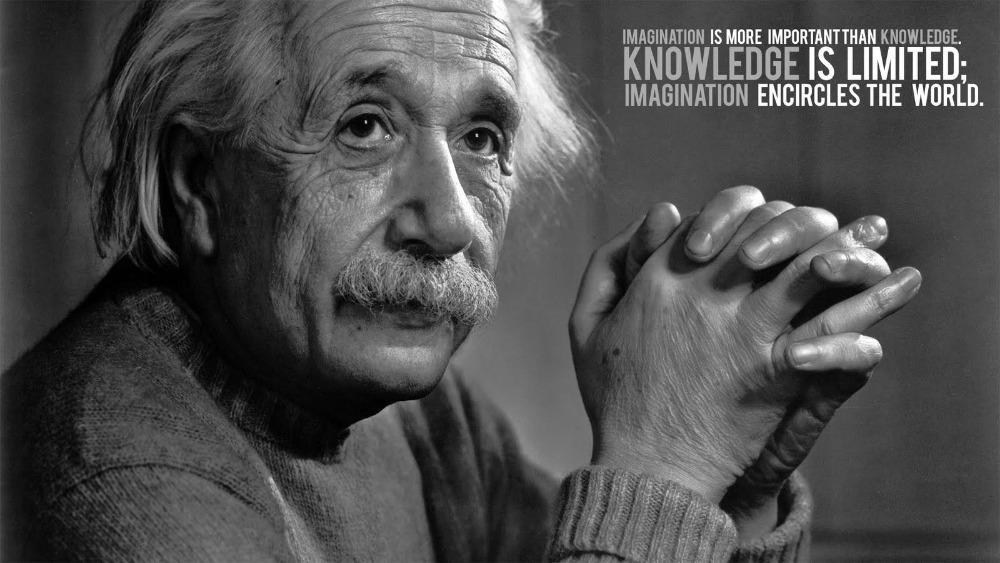 0242 Albert Einstein Quotes Motivational Inspirational FABRIC Poster 40x60cm - wall sticker Home Decor poster