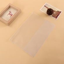 Customised promotional clear or matte PVC plastic file folder document folders protective cover