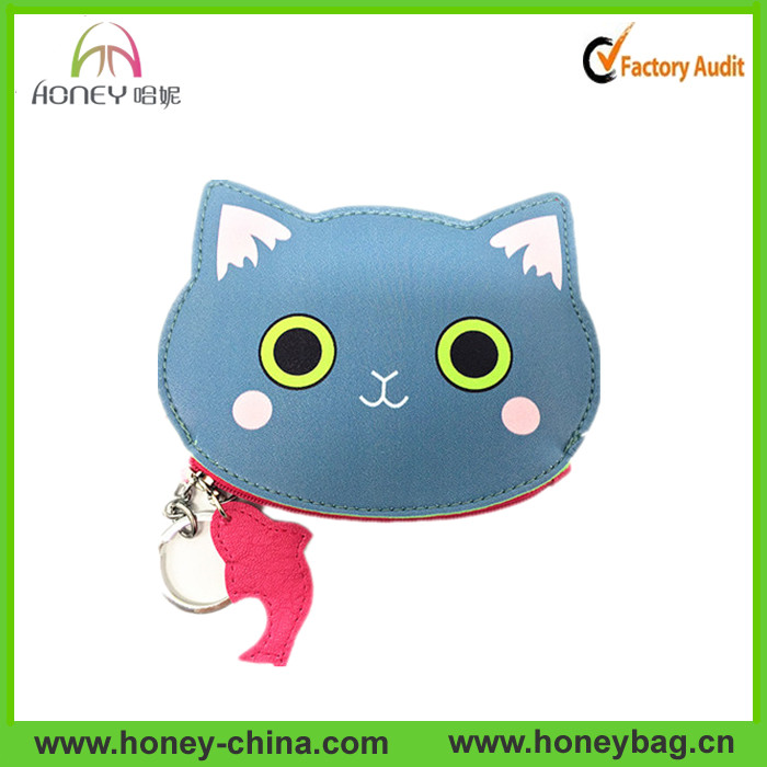 fashinable cute girl coin purse with lovely picture