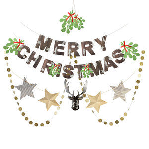 Sunbeauty New Design Wholesale Christmas Hanging Paper Party Decoration