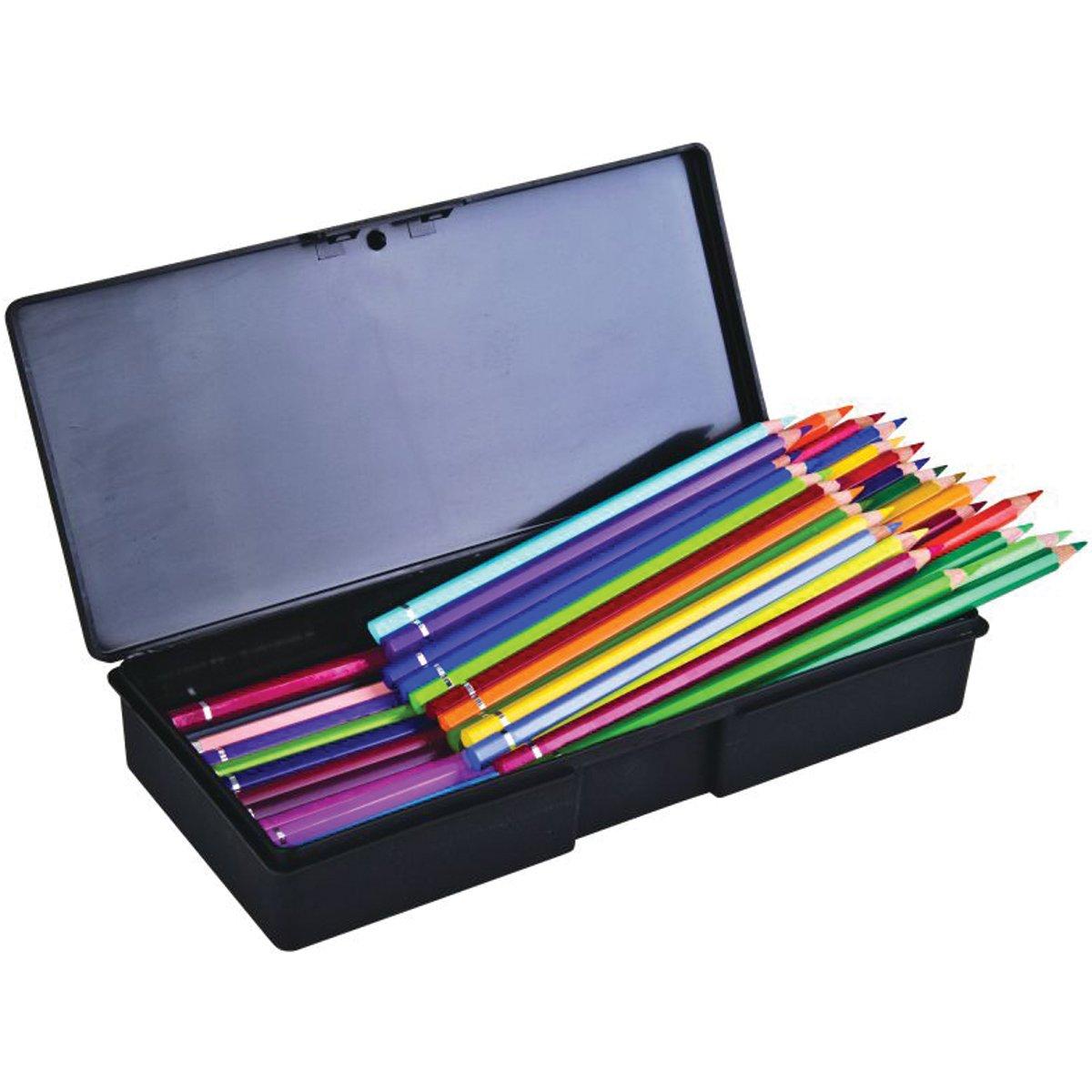 ArtBin Sketch Series Single Compartment Box- Black pencil/pen/ supply Storage Container, KV501