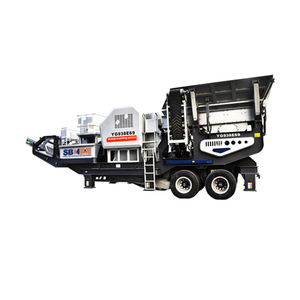 Fast shipping coal crush and screen plant coal mobile crusher