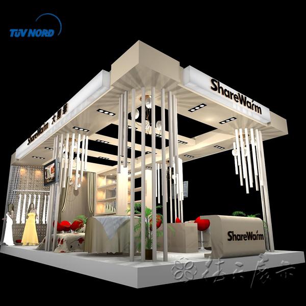 Exhibition Booth Partition : معرض كشك المعرض تصميم الجدران وتنفيذ المقصورات