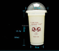 Disposable Plastic Cold Coffee Cup, Ice Cream Cup, Fruit Cup