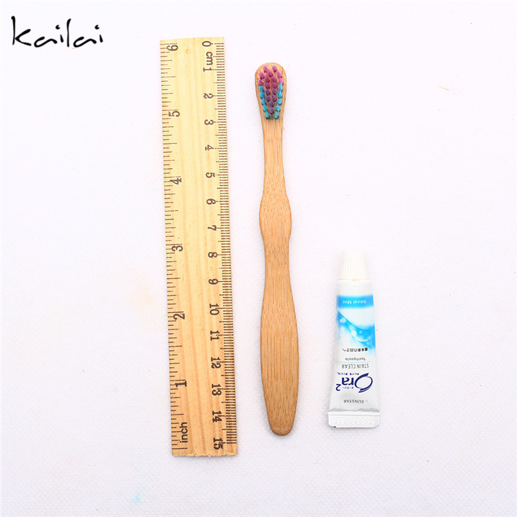 Hotel dental kit biodegradable bamboo toothbrush with toothpaste